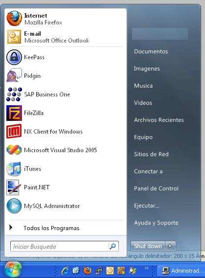 Vistart Menu de Vista en XP